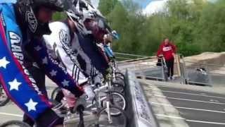 preview picture of video 'Stage BMX - Piste de Soues - 1er Mai 2013'