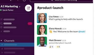 Channels in Slack | Discover a new way of working