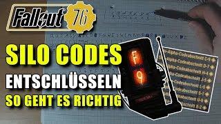 Silo Codes Entschlüsseln | Tutorial | Fallout 76