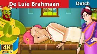 De Luie Brahmaan | 4K UHD | Dutch Fairy Tales