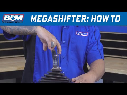 How to Shift a B&M MegaShifter