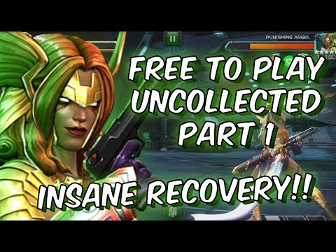 Free To Play Uncollected Difficulty Part 1 - Punishing Angel - Marvel Contest Of Champions