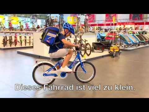 Kinderrad - welche Größe braucht mein Kind?