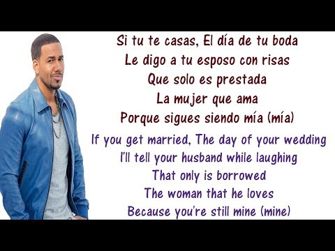 Romeo Santos - Eres Mia - Lyrics English and Spanish - You're Mine - Translation & Meaning