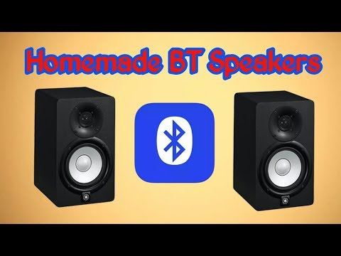 Homemade bluetooth portable mini speakers very easily DIY by electronic GURU