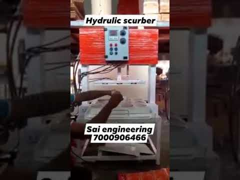Scrubber Packing Hydraulic Machine