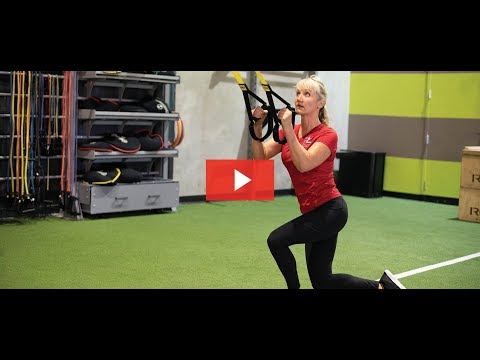 TRX for OCR: TRX Curtsy Lunge - ClubSport August Workout of the Month