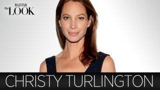 Christy Turlington On Calvin Klein, The  80s & Her Style | Harpers Bazaar The Look