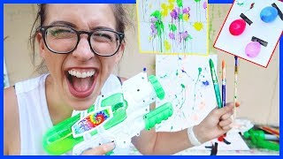 Fun Summer Painting Crafts!!!