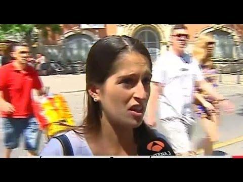 Antena 3 hizo pasar una periodista valencianohablante por una turista que no entendía el valenciano