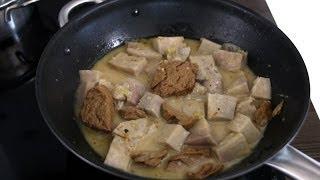 Vịt nấu chao chay (Mock Duck with Fermented Tofu – Vegetarian Recipe)