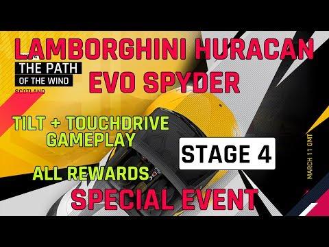 Etape 4 Lamborghini Huracan Evo Spyder événement spécial