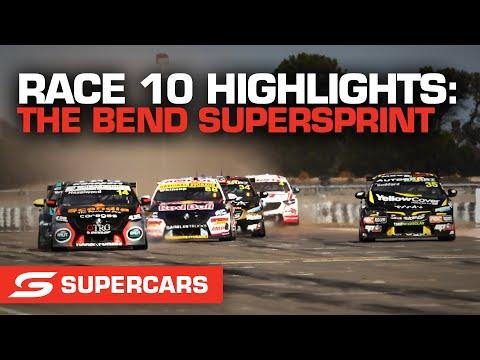 SUPERCARS 2021 OTR スーパースプリント RACE10のハイライト動画