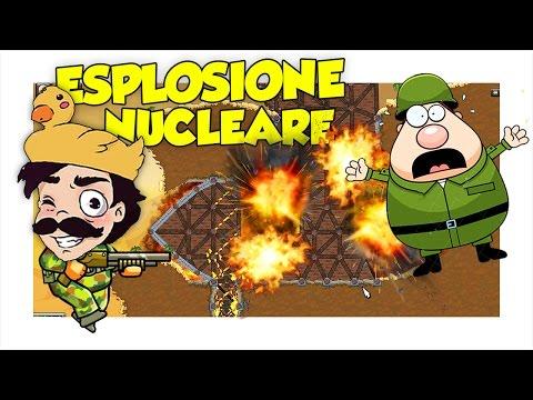 REAZIONE NUCLEARE A CATENA SOTTO LA FORTEZZA NEMICA! - Forts ITA