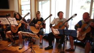 Alex de Grassi's Guitar Orchestra (rehearsal) with Andrew York (take 1)