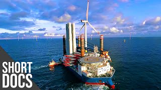 Electricity from the Ocean: Building Offshore Wind Farms in the North Sea