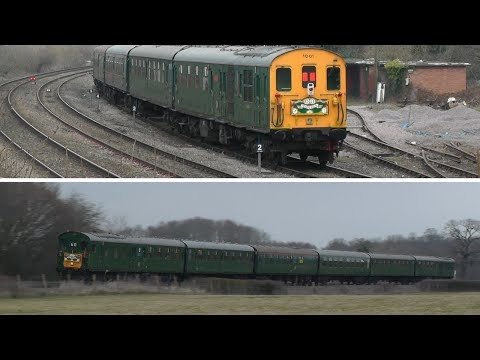 Hastings Diesels DEMU 1001 makes a rare appearance on the Ma…