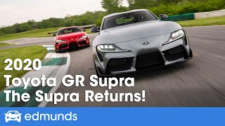 2020 Toyota GR Supra Test Drive and Review