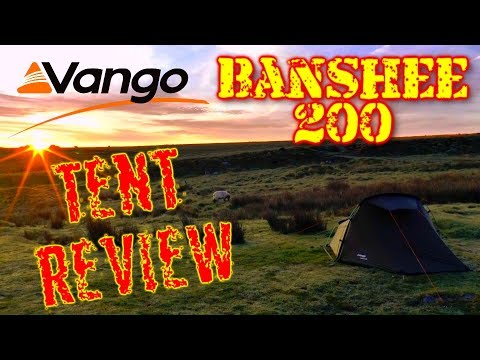 Vango Banshee 200 - Bad Weather Wild Camping Hiking and Backpacking Tent Review