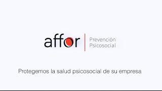 Presentación AFFOR - Affor Centro de Psicología