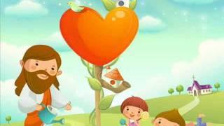 耶穌愛我們,我們是《神的孩子》(歌詞/卡通精美手繪圖)