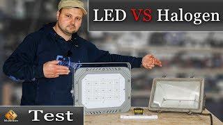 Vergleich Halogen / LED Strahler - Vor und Nachteile der Systeme.