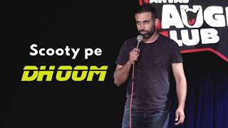 Scooty Pe Dhoom | Pritish Narula Hindi Stand-up Comedy | Canvas Laugh Club