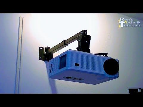 HOW TO CONVERT CHEAP LED PROJECTOR TO GREAT HOME CINEMA PROJEKTOR | EXCELVAN CL720D FAN CONVERSION