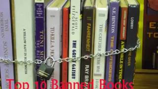 Top Ten Banned Books Ever ||