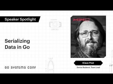 Image thumbnail for talk Serializing Data in Go