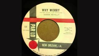 AARON NEVILLE  TELL IT LIKE IT IS   WHY WORRY