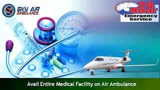 Avail Sky Air Ambulance from Thiruvananthapuram or Visakhapatnam