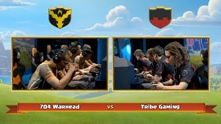 Final battle !! 704 warhead vs Tribe  gaming || world champions of clash of clans
