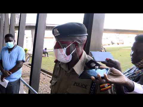 Police officer leaves Masaka hospital after recovering from COVID-19