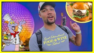 EPCOT'S FOOD AND WINE FESTIVAL 2018 Feat. Prince Charming Dev | Disney World Vlog