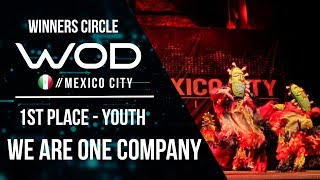 We are one company | 1st Place Youth Division | World of Dance Mexico City Qualifier | #WODMX17