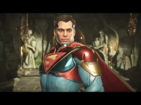 Injustice 2 : Superman Vs Black Adam - All Intro/Outros, Clash Dialogues, Super Moves