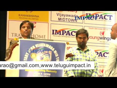 Blogging|Sai Satish|TELUGU IMPACT Vijayawada 2016