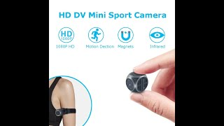 Mini 1920*1080P HD DV Recorder FPV Camera FOV 140 Degree Built-in Battery Support 32G SD Card