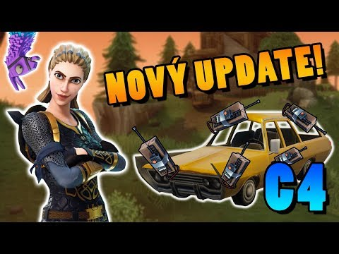 NOVÝ UPDATE! C4! │Fortnite: Battle Royale
