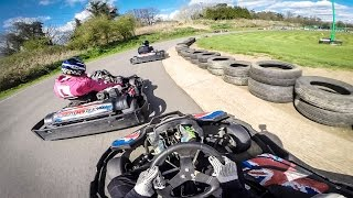 preview picture of video 'Surbiton Raceway Karting for Warren's stag do'