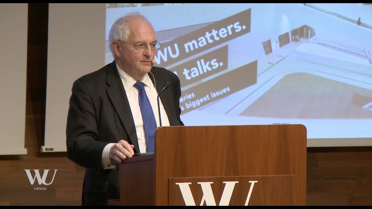 Video WU Lecture in Economics 2017