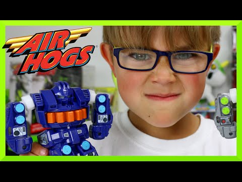 Air Hogs Smash Bots Battling Robots Remote Control Toy Review And Play