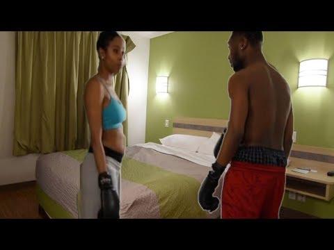 If Sex was like boxing. Yozymi Balls Deep Dagger!!!!!!!!!!!