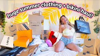 HUGE SPRING/SUMMER 2021 HAUL! Clothing, Bikinis, Random Amazon Purchases and More!