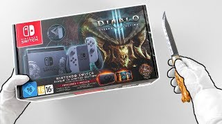 Unboxing The New Nintendo Switch Limited Edition Console