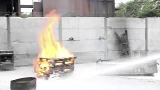 Fire fighting with new foam - Biofoam