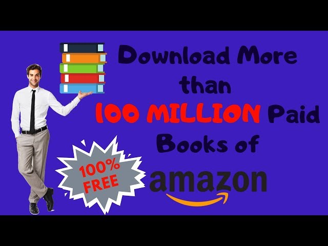 How to download paid books on AMAZON for free || 100% FREE