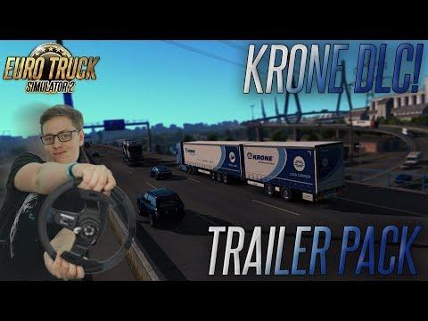 KRONE TRAILER PACK DLC   Euro Truck Simulator 2 #82