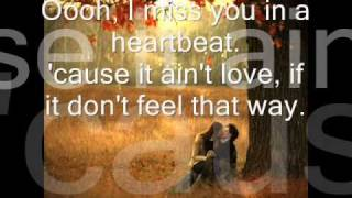 I Miss You In A Heartbeat - Def Leppard lyrics